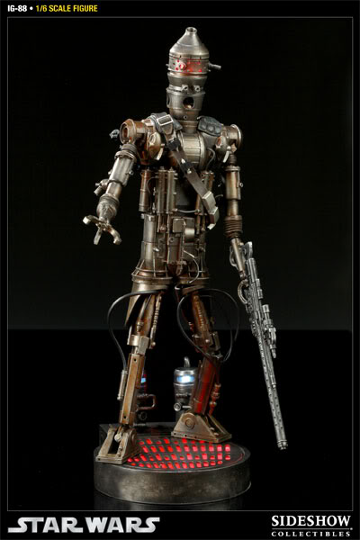 Sideshow - IG-88 - 12 inch Figure 100029press09001