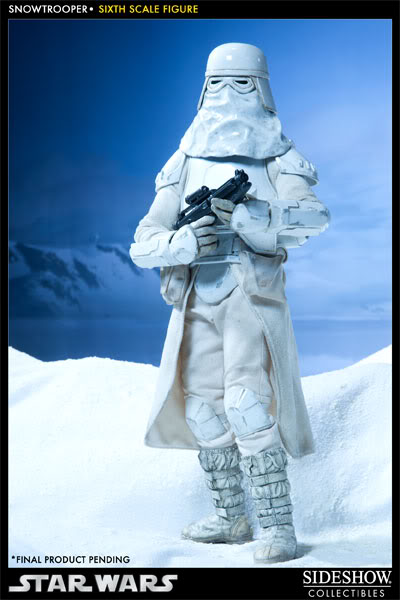 """Sideshow Collectibles - 12"""" - Snowtrooper Hoth Battle  100030_press01-001"""