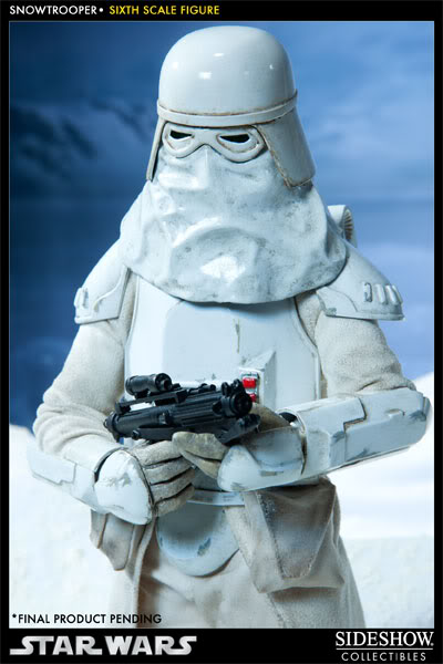 """Sideshow Collectibles - 12"""" - Snowtrooper Hoth Battle  100030_press02-001-1"""