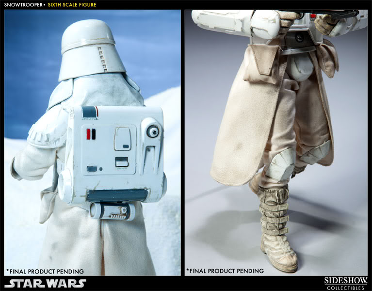 """Sideshow Collectibles - 12"""" - Snowtrooper Hoth Battle  100030_press04-001"""