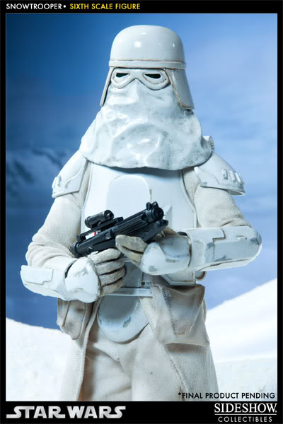 """Sideshow Collectibles - 12"""" - Snowtrooper Hoth Battle  100030_press07-001"""