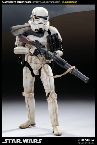 Sideshow - Sandtrooper Deluxe Figure & Dewback - 12' 100055_press01-001