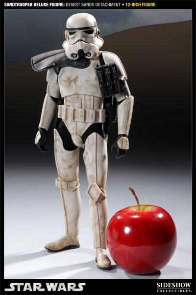 Sideshow - Sandtrooper Deluxe Figure & Dewback - 12' 100055_press02-001