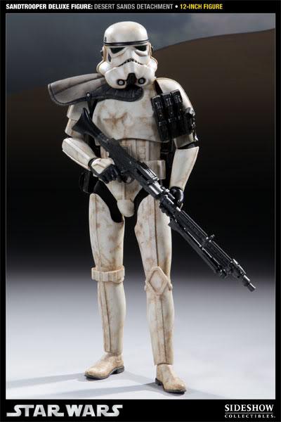 Sideshow - Sandtrooper Deluxe Figure & Dewback - 12' 100055_press03-001