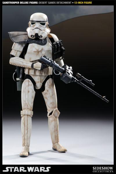 Sideshow - Sandtrooper Deluxe Figure & Dewback - 12' 100055_press05-001