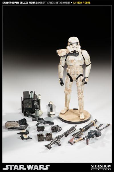 Sideshow - Sandtrooper Deluxe Figure & Dewback - 12' 100055_press08-001