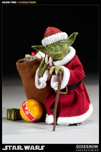 Sideshow -Yoda (Holiday Version) 12 inch Figure 100087_press01-001