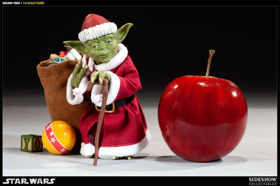 Sideshow -Yoda (Holiday Version) 12 inch Figure 100087_press02-001
