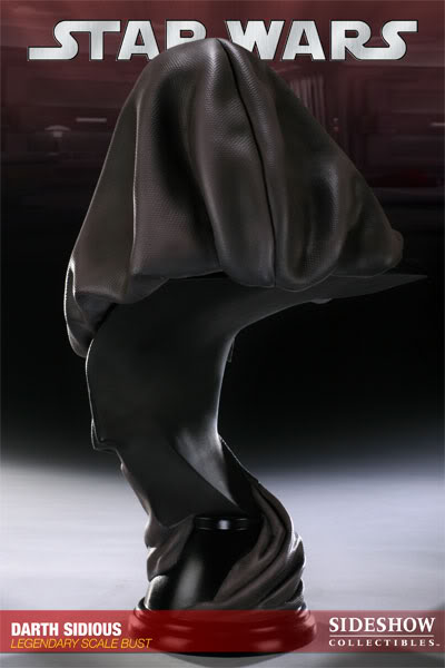 Sideshow - Darth Sidious Legendary Scale Bust – Star Wars  200048_press07-001