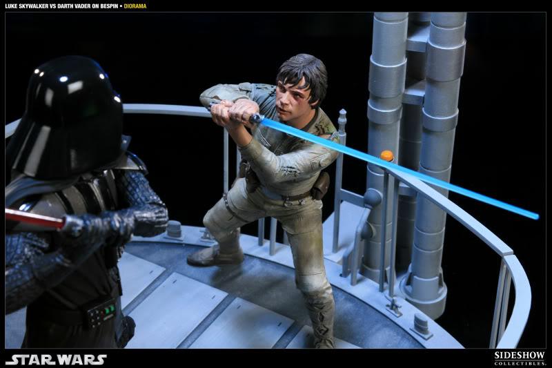 Sideshow - Luke Skywalker VS Darth Vader on Bespin Diorama 200050_press10