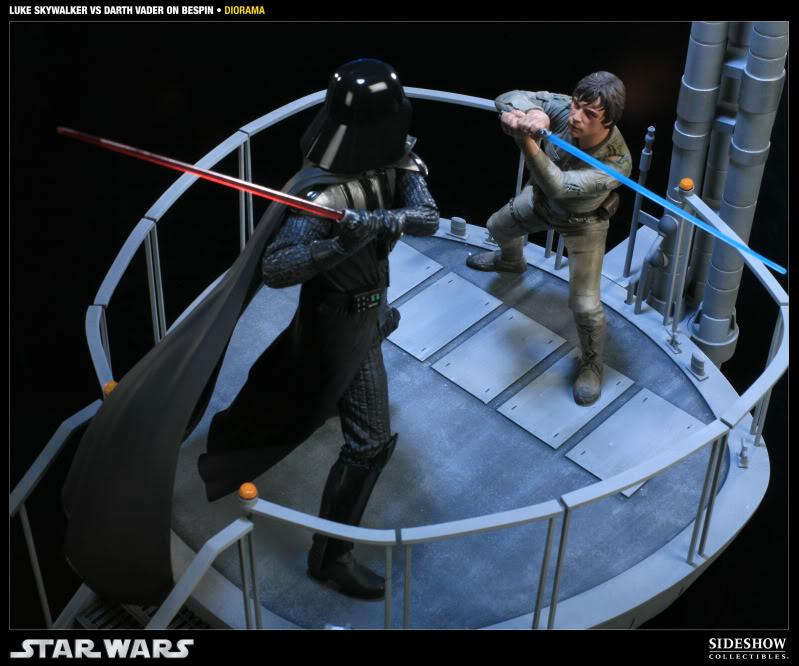 Sideshow - Luke Skywalker VS Darth Vader on Bespin Diorama 200050_press11