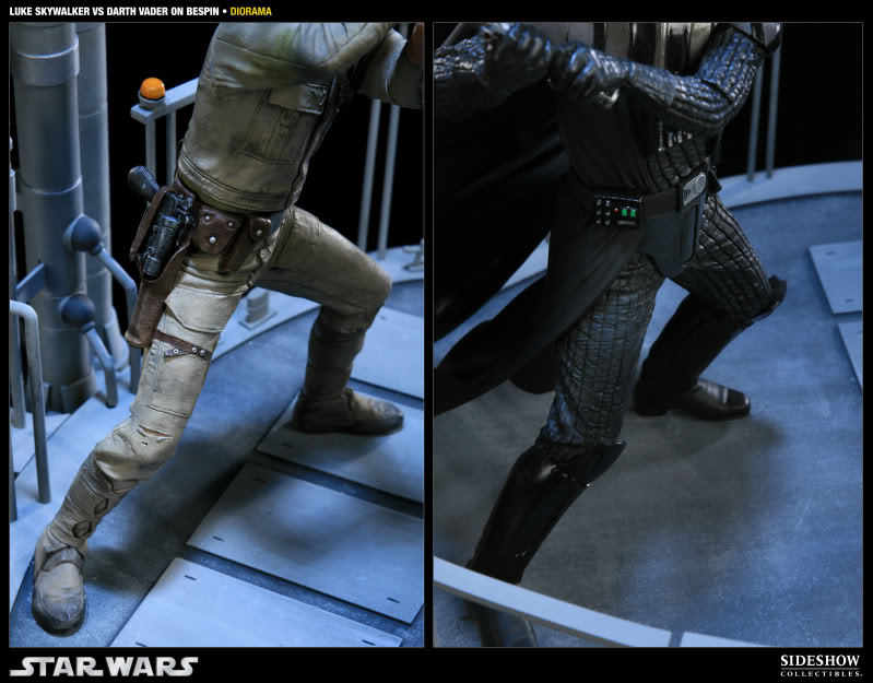 Sideshow - Luke Skywalker VS Darth Vader on Bespin Diorama 200050_press12