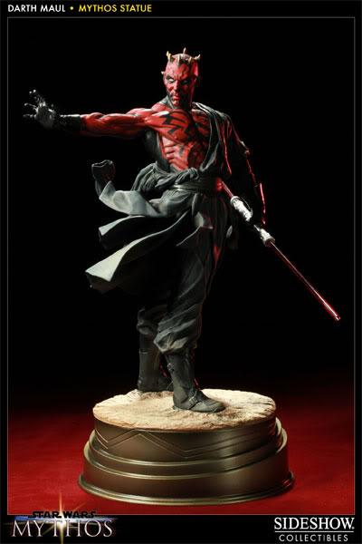 "Sideshow - Mythos - Darth Maul ""Dark Disciple"" Polystone 200109_press01-001"