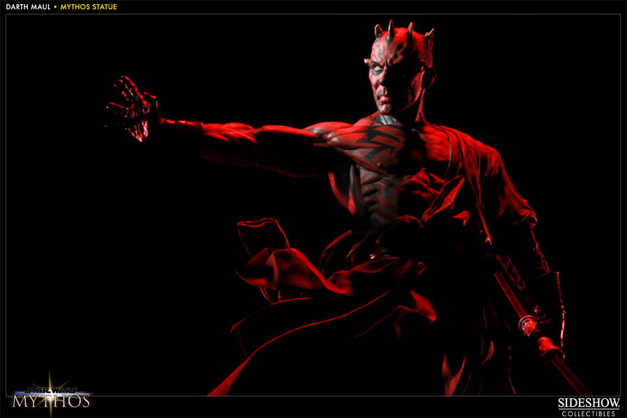 "Sideshow - Mythos - Darth Maul ""Dark Disciple"" Polystone 200109_press05-001"