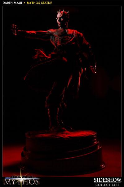 "Sideshow - Mythos - Darth Maul ""Dark Disciple"" Polystone 200109_press06-001"