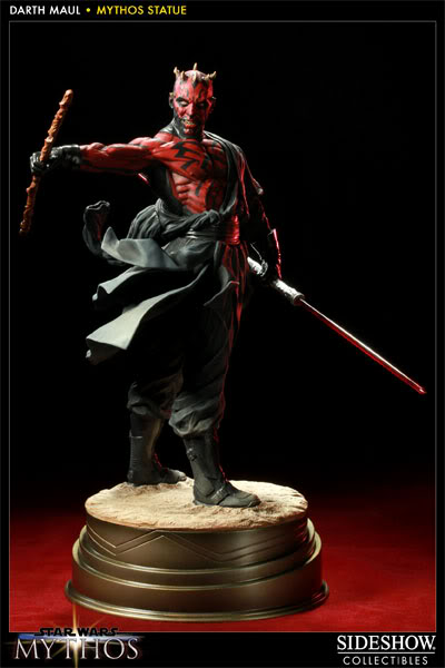 "Sideshow - Mythos - Darth Maul ""Dark Disciple"" Polystone 200109_press07-001"