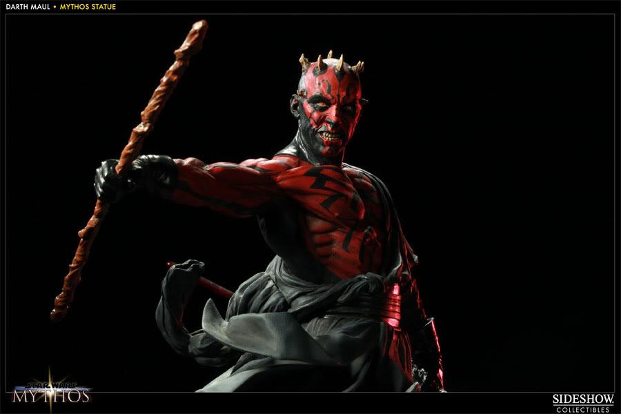 "Sideshow - Mythos - Darth Maul ""Dark Disciple"" Polystone 200109_press08-001"