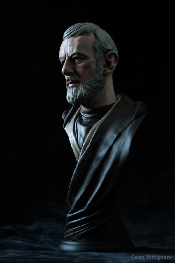 Ben Obiwan Kenobi- Legendary scaled bust - Page 2 3