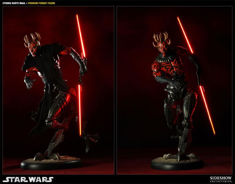 Cyborg Darth Maul - Premium Format Figure  - Page 2 300022_press06-001