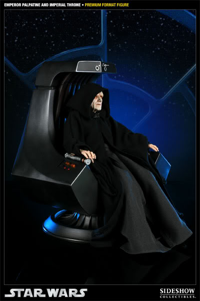 Sideshow - Palpatine on throne - Premium Format 2011 300052_press01-001