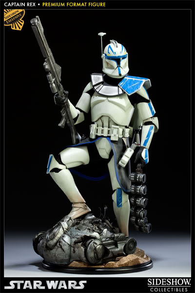 Sideshow Collectibles Star Wars Captain Rex Premium Format 3000971_press01-001