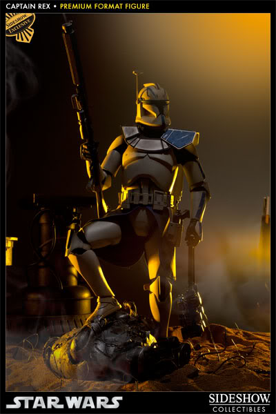 Sideshow Collectibles Star Wars Captain Rex Premium Format 3000971_press03-001