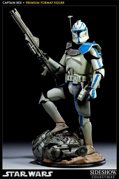 Sideshow Collectibles Star Wars Captain Rex Premium Format 300097_press01-001