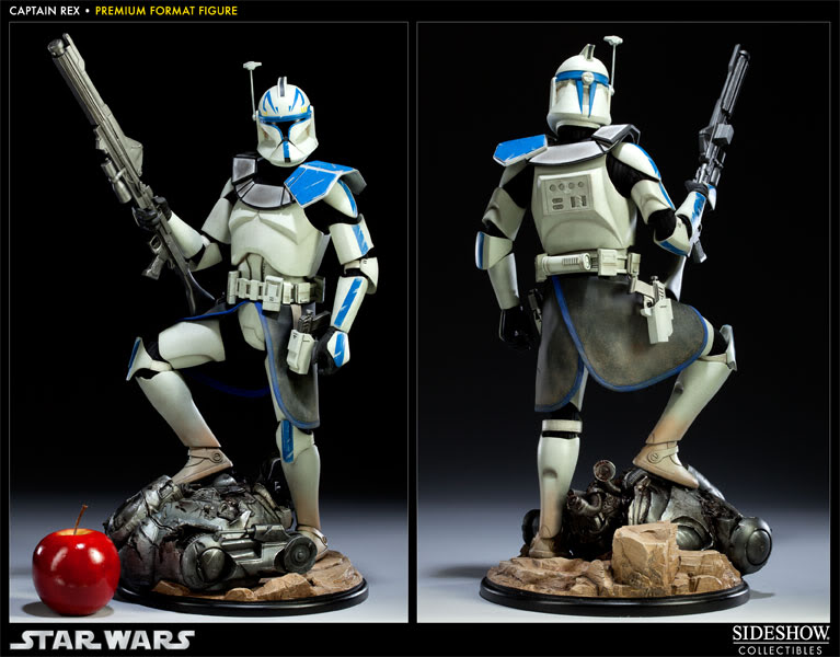 Sideshow Collectibles Star Wars Captain Rex Premium Format 300097_press03-001