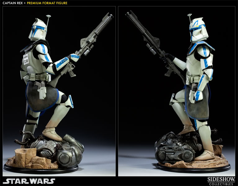 Sideshow Collectibles Star Wars Captain Rex Premium Format 300097_press04-001