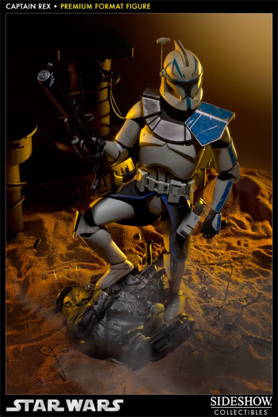 Sideshow Collectibles Star Wars Captain Rex Premium Format 300097_press09-001