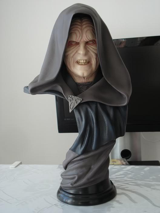 Sideshow - Darth Sidious Legendary Scale Bust – Star Wars  3AYg9