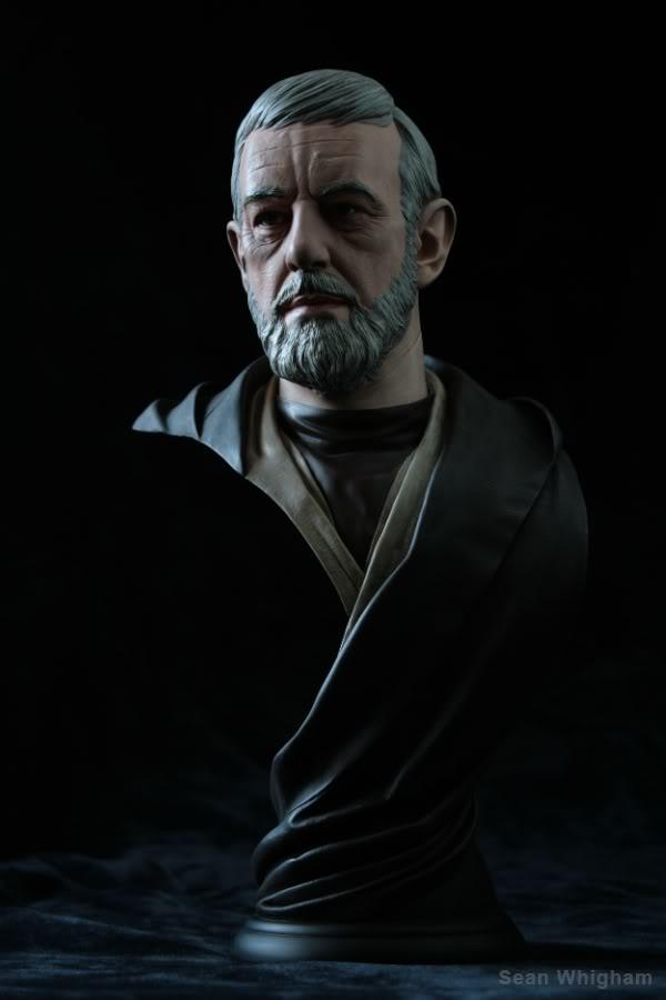 Ben Obiwan Kenobi- Legendary scaled bust - Page 2 4