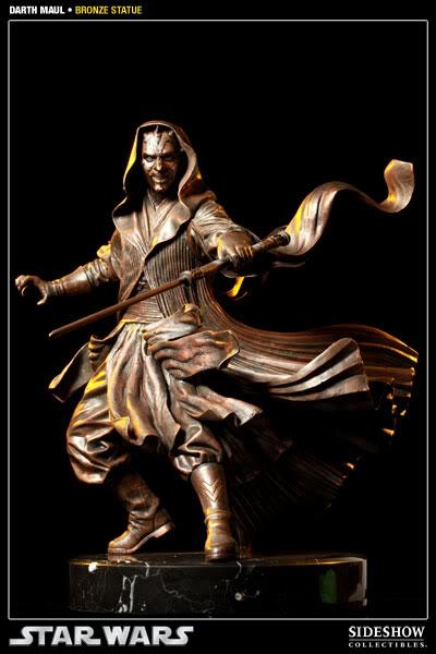 Sideshow - Darth Maul - Statue Bronze 400025_press01-001