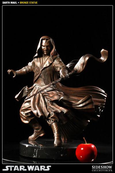 Sideshow - Darth Maul - Statue Bronze 400025_press02-001