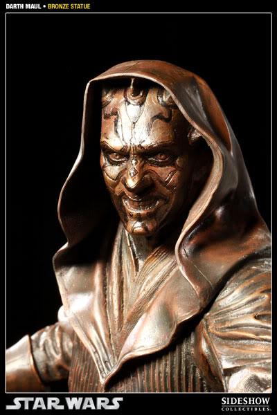 Sideshow - Darth Maul - Statue Bronze 400025_press03-001