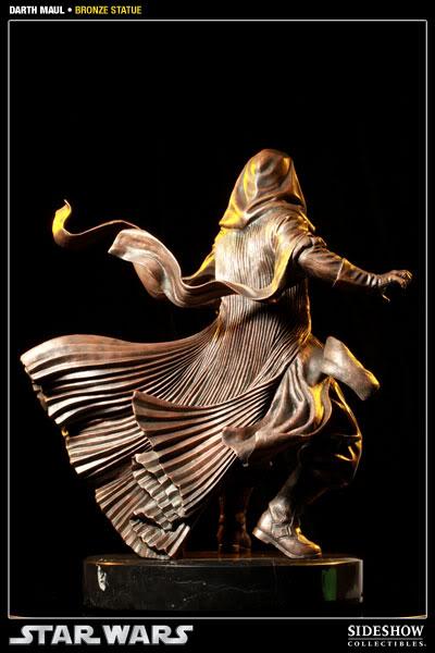 Sideshow - Darth Maul - Statue Bronze 400025_press04-001