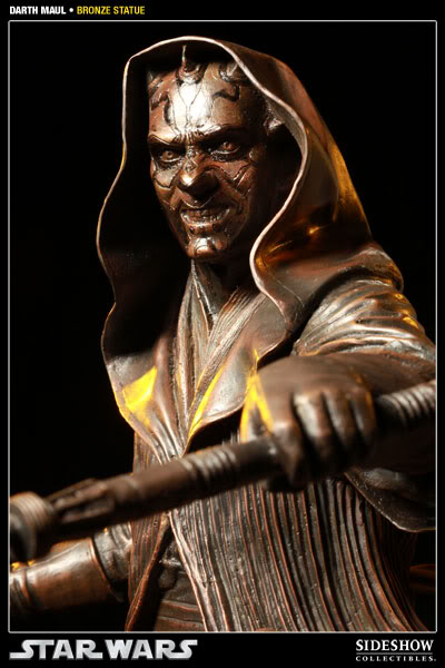 Sideshow - Darth Maul - Statue Bronze 400025_press05-001