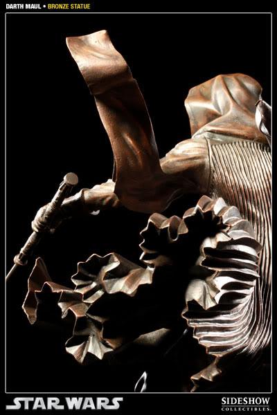Sideshow - Darth Maul - Statue Bronze 400025_press06-001