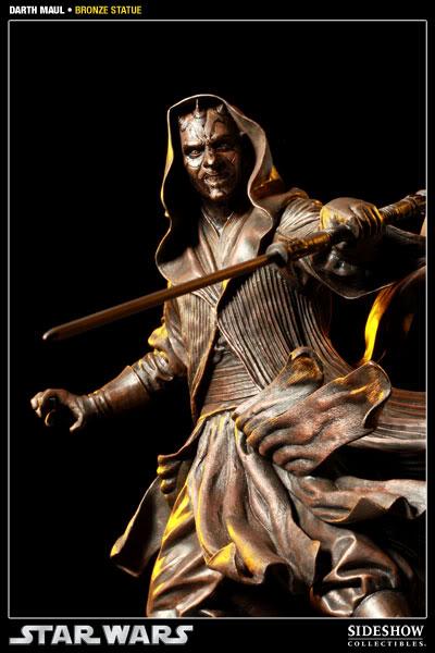 Sideshow - Darth Maul - Statue Bronze 400025_press07-001