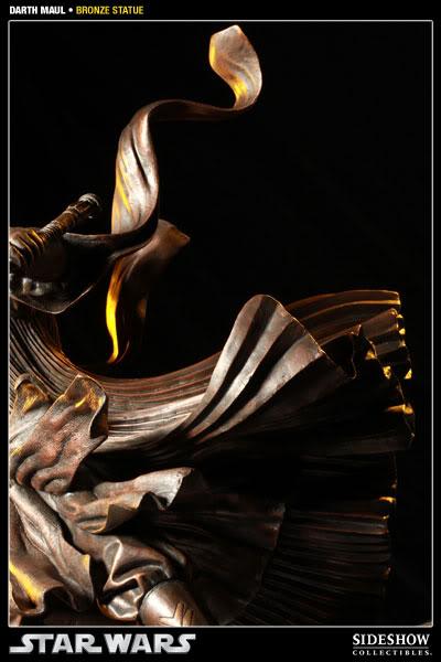 Sideshow - Darth Maul - Statue Bronze 400025_press08-001