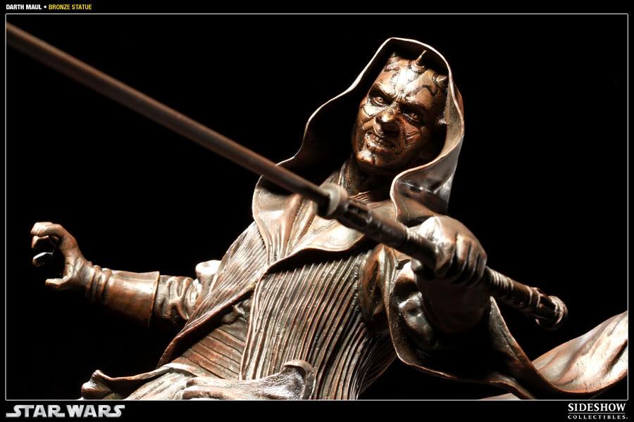 Sideshow - Darth Maul - Statue Bronze 400025_press09-001