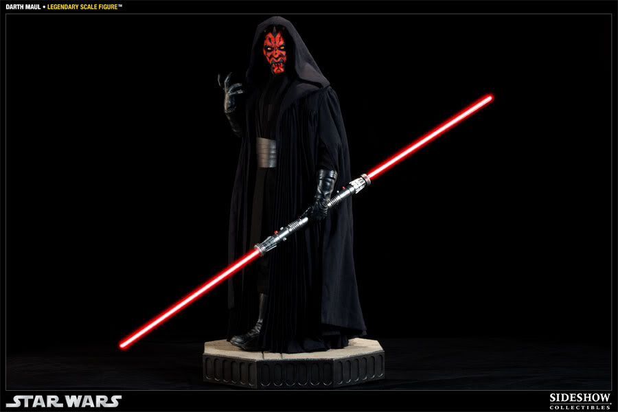 Sideshow - Darth Maul - Legendary Scale Figure  - Page 2 400074_press01-001