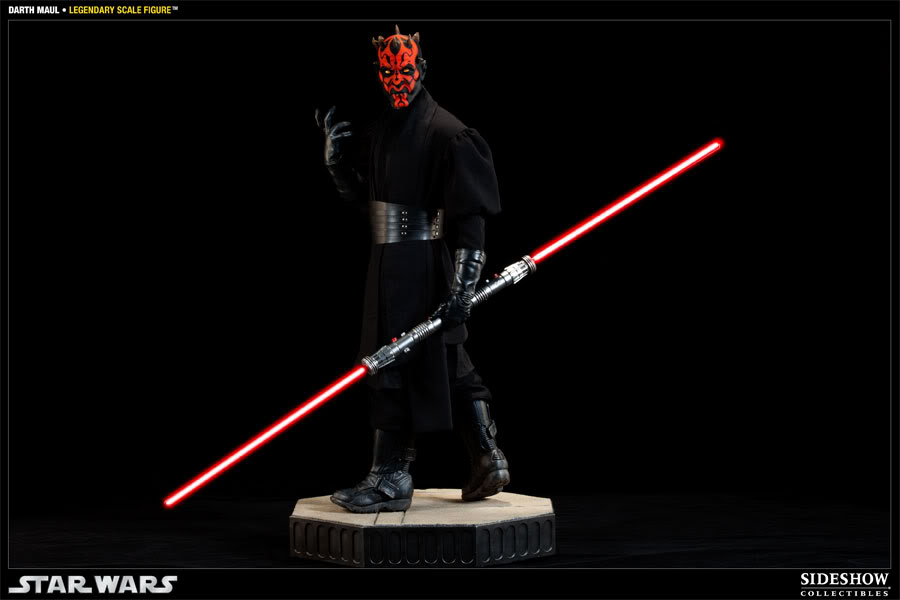 Sideshow - Darth Maul - Legendary Scale Figure  - Page 2 400074_press03-001
