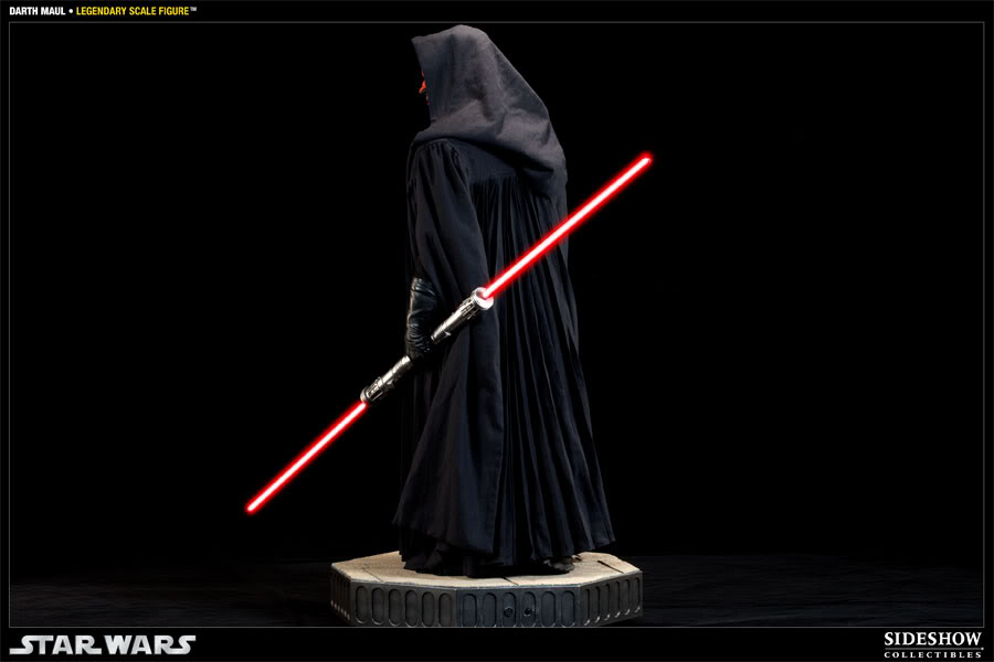 Sideshow - Darth Maul - Legendary Scale Figure  - Page 2 400074_press04-001
