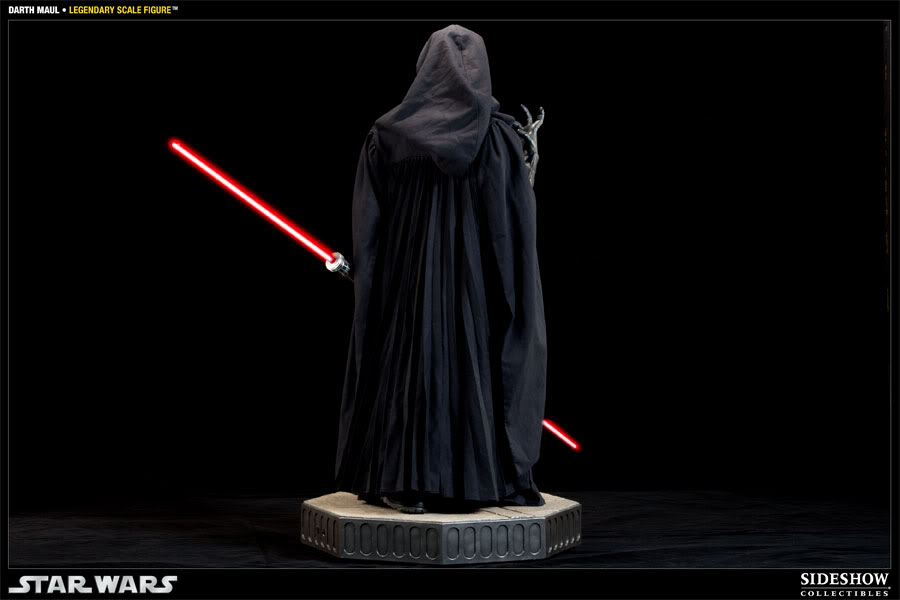 Sideshow - Darth Maul - Legendary Scale Figure  - Page 2 400074_press05-001