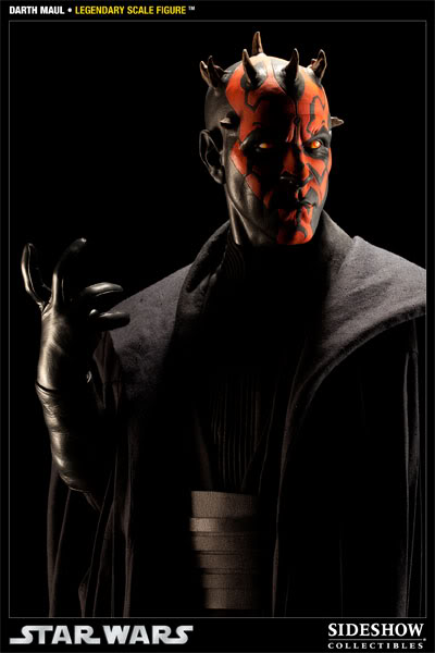 Sideshow - Darth Maul - Legendary Scale Figure  - Page 2 400074_press07-001