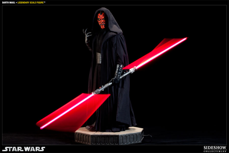 Sideshow - Darth Maul - Legendary Scale Figure  - Page 2 400074_press08-001