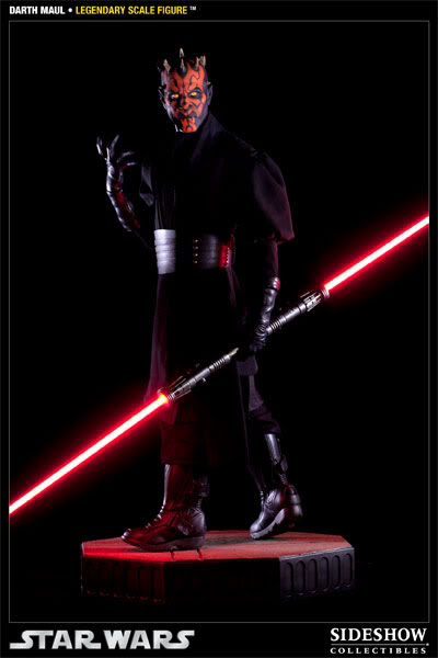 Sideshow - Darth Maul - Legendary Scale Figure  - Page 2 400074_press10-001