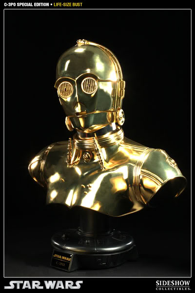 """Sideshow - C3PO Life Size Bust """"Special Edition"""" 400106_press01-001"""