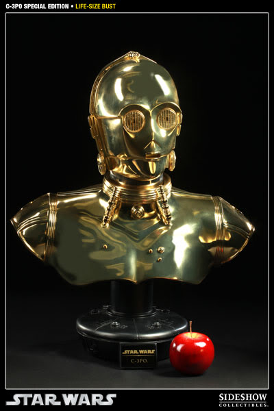 """Sideshow - C3PO Life Size Bust """"Special Edition"""" 400106_press02-001"""